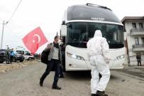 TIR ŞOFÖRÜ - Ukrayna'dan Getirilerek Karantinaya Alınacağı Yurda Türk Bayrağıyla Giriş Yapmıştı