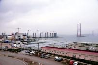 BOĞAZ KÖPRÜSÜ - 1915 Çanakkale Köprüsü Hızla Yükselmeye Devam Ediyor
