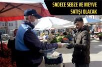 DEZENFEKSİYON - Bayburt Halk Pazarına Yeniden Düzenleme