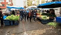 DİYARBAKIR VALİSİ - Büyükşehir Belediyesi Semt Pazarlarını Denetledi