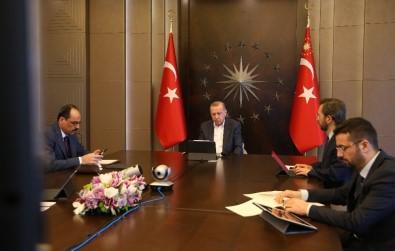 Cumhurbaşkanı Erdoğan, MİT Başkanı Fidan İle Video Konferansta Görüştü