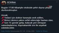 Ekrem İmamoğlu - İstanbul Valisi Yerlikaya Açıklaması 'Bugün 17.00 İtibariyle Otobüsle Şehir Dışına Çıkışlar Durdurulmuştur'