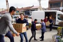 TİCARET ODASI - KATSO'dan 'Evde Kal' Çağrısında Uyan İhtiyaç Sahibi Ailelere Gıda Yardımı