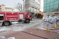 NEVŞEHİR BELEDİYESİ - Nevşehir'de Caddeler Dezenfekte Ediliyor