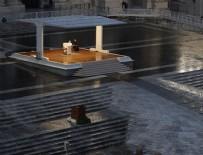 NOEL - Papa'dan boş San Pietro Meydanı'nda salgına karşı dua