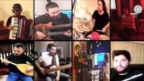 BARIŞ MANÇO - Sanatçılar 'Hayat Eve Sığar' Kampanyasına Destek İçin Evlerinden Çaldı