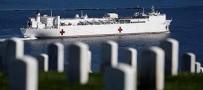 KALIFORNIYA - USNS Mercy Yüzen Hastane Gemisi, Los Angeles Limanı'na Geldi