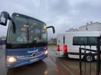 HıRVATISTAN - Yurt Dışından Gelen 159 Kişi Düzce'de Yurda Yerleştirildi