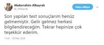 DİVAN KURULU - Abdurrahim Albayrak Açıklaması 'Son Yapılan Test Sonuçlarım Henüz Gelmemiştir'