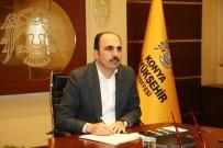 UĞUR İBRAHIM ALTAY - Başkan Altay İlçe Belediye Başkanlarıyla Telekonferansla Görüştü