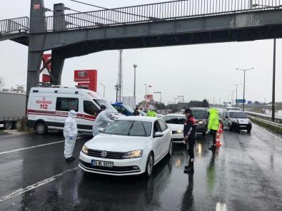 İstanbul Genelinde Polis Ekipleri Giriş Ve Çıkışlarda Tek Tek Araçları Denetledi