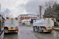SANAYİ SİTESİ - KÜSGET Ve GATEM'de Hummalı Dezenfekte Çalışması