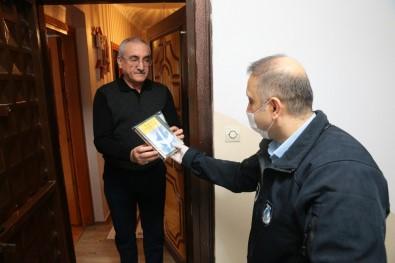Vatandaşlara 'Evde Kitap' Servisi
