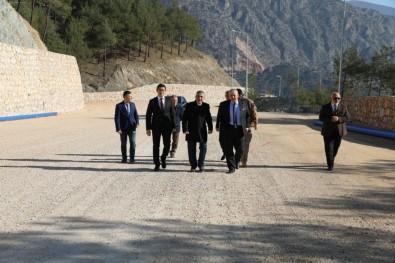 Başkan Sarı Açıklaması 'Kale Yolu Çalışmalarımızda Sona Geldik'