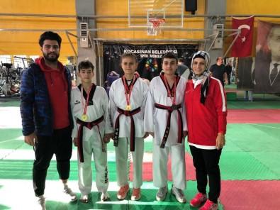 Melikgazi Taekwondosunun Yıldızı Parlıyor