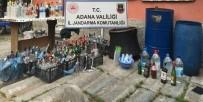 KAÇAK İÇKİ - Adana'da Kaçak İçki Operasyonu