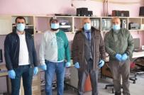 MUHABIR - ASYMD'den Sahadaki Gazetecilere Maske Ve Eldiven