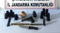 MERMİ - Birecik'te Tarihi Eser Silah Ve Mühimmat Ele Geçirildi