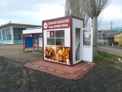 Çiçekdağı İlçesinde 'Halk Ekmek Satış Büfe'leri Hizmete Açıldı