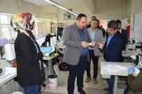 VİRANŞEHİR - Ekinci Maske Üretim Atölyesini Ziyaret Etti