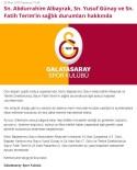 ABDURRAHIM ALBAYRAK - Galatasaray'dan Koronavirüs Açıklaması Açıklaması 'Fatih Terim Ve Abdurrahim Albayrak...'