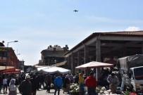 SAĞLIĞI MERKEZİ - Karacasu'da Drone Destekli Ateş Ölçümü Yapıldı
