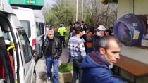 YOLCU MİNİBÜSÜ - Sakarya'da Seyahat Kısıtlamasına Uymayan Yolcular İstanbul'a Geri Gönderildi