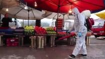 PAZAR ESNAFI - Akçakoca Belediyesinin Koronavirüs Önlemleri Sürüyor