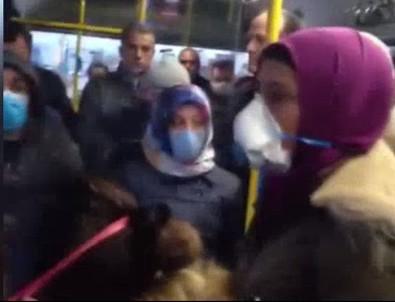 Ankara'da tepki çeken görüntü!