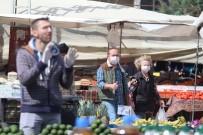 GÜZERGAH - Antalya'da Pazarcılara Çift Ve Tek Haneli Tezgah Uygulaması