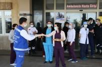 ÖZLEM ÇERÇIOĞLU - Büyükşehirden Korona Virüsle Mücadele Edenlere Baklava İkramı