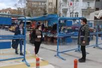 OKTAY KALDıRıM - Elazığ'da Pazarlarda Korona Virüs Önlemi
