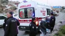 YEŞILDERE - İzmir'de Ambulans Kaçıran Şüpheli Kovalamaca Sonucu Yakalandı