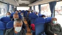 UMRE - Karantinadaki Umrecilerin Otobüslerle Yuvalarına Dönüş Yolculuğu Başladı