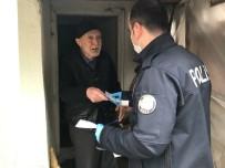 KıRKA - Kırka Polisi Yaşlıların Maaşlarına Evlerinde Teslim Ediyor