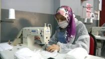 KÜÇÜKKÖY - Meslek Lisesinin Gönüllü Öğretmenleri Cerrahi Maske Üretiyor
