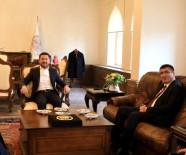 NEVŞEHİR BELEDİYESİ - NEVÜ Rektörü Prof. Dr. Aytekin, Belediye Başkanı Rasim Arı'yı Ziyaret Etti