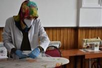 KÜLTÜR SANAT - Tatvanlı Kadınlar Maske Üretimine Başladı