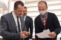 BILAL ŞENTÜRK - Vali Şentürk'ten Saadet Nineye Özel Telefon