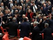 NÜKLEER SİLAH - Meclis'teki kavga tutanaklarda!