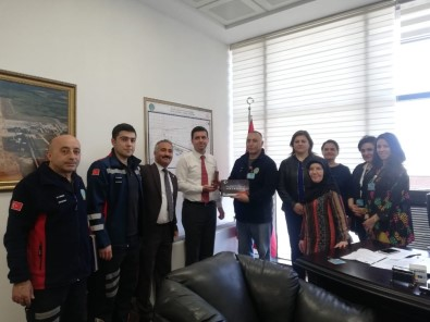 Türk Ulaşım-Sen'den Savaş'a Ziyaret
