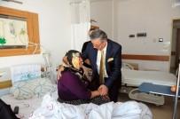 Başkan Topaloğlu'dan Hastalara Geçmiş Olsun Ziyareti