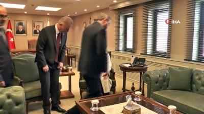 Diyanet İşleri Başkanı Erbaş'tan Vali Gül Ve Başkan Şahin'e Ziyaret