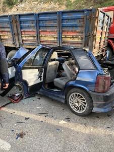 Hatay'da Trafik Kazası Açıklaması 1 Ölü, 1 Yaralı