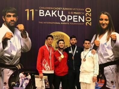 İzmitsporlu Karateci Tamyüksel'den Gümüş Madalya
