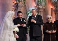 HALIÇ KONGRE MERKEZI - Cumhurbaşkanı Erdoğan nikah şahidi oldu