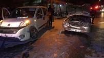Kaza Yaptı Aracını Bırakıp Kaçtı