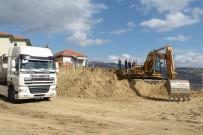 Tosya'da Yatılı Kur'an Kursu İnşaatına İlk Kazma Vuruldu