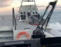 MERİÇ NEHRİ - Yunan gemisine büyük şok!