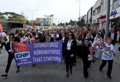 Dünya Emekçi Kadınlar Günü Çeşme'de Kutlandı